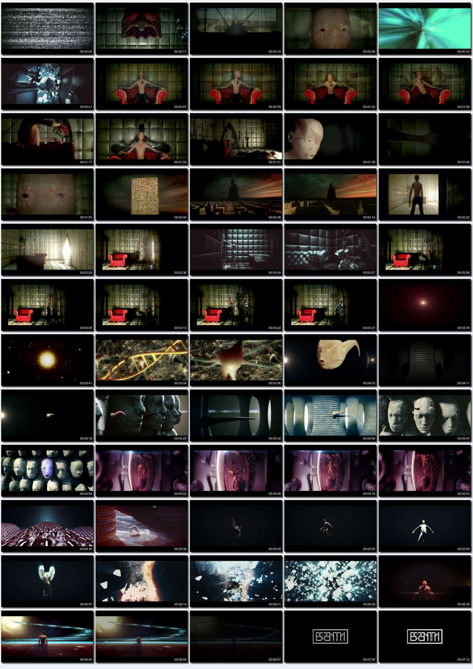 Spectrophobia Video Thumbnails