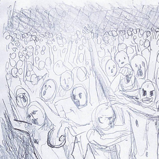 First preproduction sketches for 'Dirt' video. Coming soon...  🎬 bit.ly/rop-dirt  #EssenthBand #AndEverythingWasAndEverythingWill #ArtRock #Artwork #Illustration #BlackAndWhite #VisualStories #SymbolicArt #DigitalArt #Dirt #Storyboard #Sketch